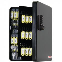 FJM Security SL-9122E KeyGuard Key Cabinet,122 hooks,Electronic Lock