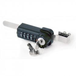 FJM Security 7865S Combination Sliding Door Ratchet Lock