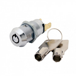 FJM Security 2304 Momentary 2 Key Pull Switch Lock