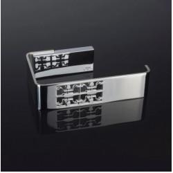 "ZEN BA0184.201 Zen by Zen Toilet Paper Holder Width 5 1/2"" x Depth 3 1/8"" Polished Chrome"