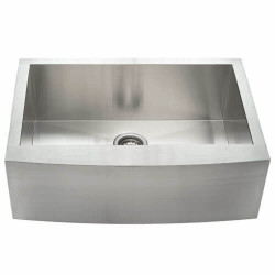 Fine Fixtures S80 Single Bowl Apron Stainless Steel Sink