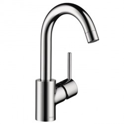 Hansgrohe 32070001 Talis S Single-Hole Faucet, High Swing Spout