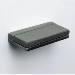 "ZEN ZP4312.919 Scandinavia Stone Knob Centers 5/8"" Antique Nickel"