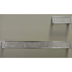 """ZEN ZP1953.122 Laminatto Pull 8 3/4"""" Chrome Diamond"""