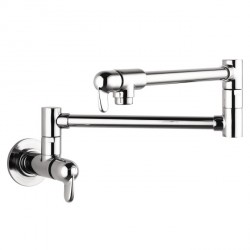 Hansgrohe 4059000 Allegro E Pot Filler, Wall-Mounted