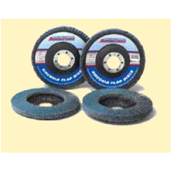 "Bulldog Fasteners FDZ 4-1/2"" X 7/8"" Zirconia Flap Wheel"