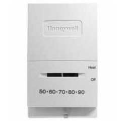 Chatham Brass T822K10 Heat Only, 50° - 90°, Honeywell Low Voltage Controls, White