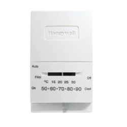 Chatham Brass T834L1004 Cooling Only Positive Off Temperature Range 50° - 90°, Honeywell Low Voltage Controls, White
