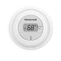 Chatham Brass T8775A1009 Heat Only Digital Non-Programmable Round, Honeywell Low Voltage Controls, White