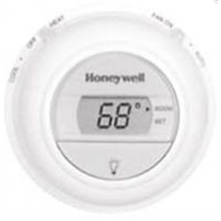 Chatham Brass T8775C1005 Digital Heat/Cool, Non-Programmable, Round, Honeywell Low Voltage Controls, White