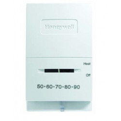 Chatham Brass T827K1009 Heat Only, Millivolt or 12VDC 50° - 90°, Honeywell Low Voltage Controls, White
