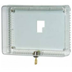 Chatham Brass TG51 Clear Plastic Guard. Inside Dimensions, Locking Thermstat Guard