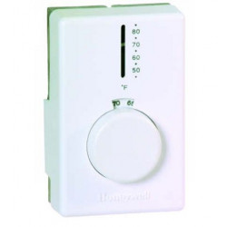 Chatham Brass T4398 Degree 50° - 80° no heat anticipator, 2 Degree Differential, Electric Heat Controls