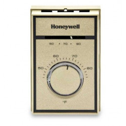 Chatham Brass T651A3018 Honeywell Medium Duty Heating and Cooling Single Pole Double Throw, Degree Range 44-86 Degrees
