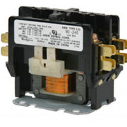 Chatham Brass 90-24 Definite Purpose Contactor for Heating and Air Conditioning Equipment, 2 Pole, 30amp
