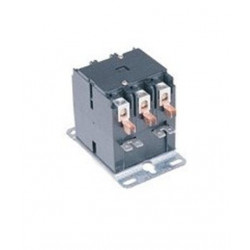 Chatham Brass 90-1 Definite Purpose Contactor for Heating and Air Conditioning Equipment, 3 Pole, 120 Voltage
