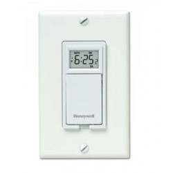 Chatham Brass PLS73 Honeywell Programmable Wall Switch, 2400 Watts, Single Pole or Three-Way