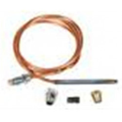 Chatham Brass 233 Series Thermocouple Replacement Kits ALL COPPER, Stainless Steel Tip with Fittings - Carded
