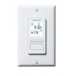 Chatham Brass PLS75 Programmable Wall Switch, Max NO Min., 1 HP for lights and motors, Single Pole or Three-Way