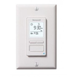 Chatham Brass PLS550A1006 White, Programmable Wall Switch Timer, Max 40W Min., for lights only, Single Pole