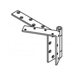 """Mckinney TA5792 Steel Heavy Weight Beveled Edge Bearing, 5"""" x 4 1/2"""""""