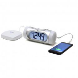 Krown Manufacturing VVIB Visual VibeAlert Alarm Clock with Bed Shaker