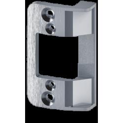 "Trine 258RD 4-7/8"" Radius Faceplate for 3000 Series Electric Strikes"