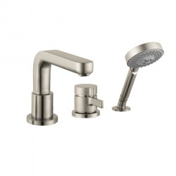 Hansgrohe 4126820 Metris S 3-Hole Thermostatic Tub Filler Trim