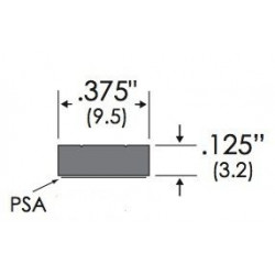 "ZERO 6.5"" Wide EPDM Gray - Replacement Gasket"