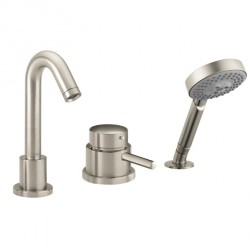 Hansgrohe 4127820 Talis S 3-Hole Thermostatic Tub Filler Trim