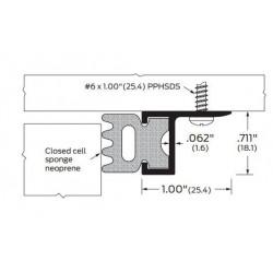 ZERO 270A/BK/D/G Door Stop / Neoprene - Gasketing
