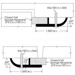 ZERO 322A/BK/D/G Neoprene - Gasketing