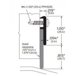 ZERO 339AA/BK/D/G Neoprene - Gasketing