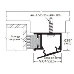ZERO 376AA/BK/D/G Neoprene / Snap-On Cover - Gasketing
