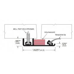 ZERO 470AA/BK/D/G Security Seal / Neoprene - Gasketing