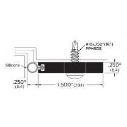 ZERO 472AA/BK/D/G Security Seal / Neoprene - Gasketing