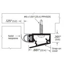 ZERO 475.AA/BK/D/G Snap-On Cover / Neoprene - Gasketing