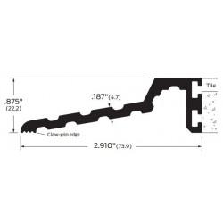 """ZERO 523A/BK/D/G Butt Threshold 3"""" (76.2)"""
