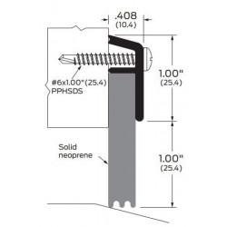 ZERO 539AA/BK/D/G Solid Neoprene