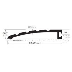 """ZERO 623A/BK/D/G Butt Threshold 3"""" (76.2)"""