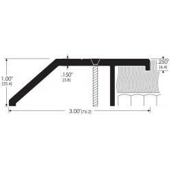 "ZERO 643A/BK/D/G Carpet Divider / 3""(76.2) wide"