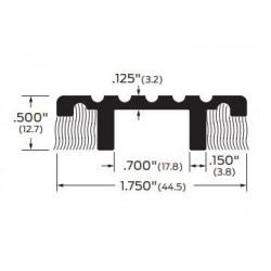 """ZERO 1682A/BK/D/G Carpet Divider Threshold 1 3/4"""" (44.5)"""