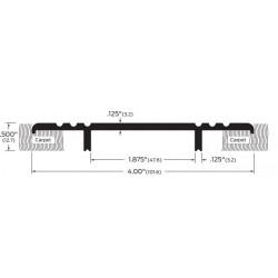 """ZERO 1684A/BK/D/G Carpet Divider 4""""(101.6)"""