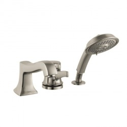 Hansgrohe 4132820 Metris C 3-Hole Thermostatic Tub Filler Trim