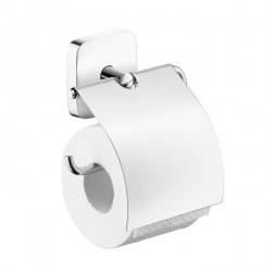 Hansgrohe 41508000 PuraVida Toilet Paper Holder with Cover