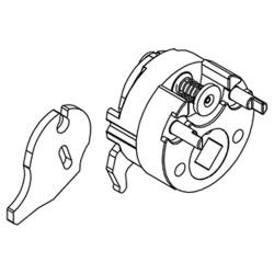 Adams Rite 4581 Universal Cam Plug