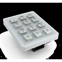 DoorBird D21DKV Keypad Module Stainless Steel V4A (Salt-Sater Resistant), Brushed