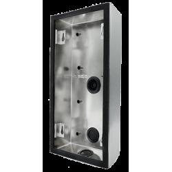 DoorBird D21DKV Surface-/Flush-Mounting Housing Stainless Steel V4A (Salt-Water Resistant), Brushed