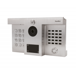 DoorBird D1812 IP Video Door Station Stainless Steel V2A, Brushed