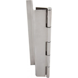 ABH A511 Stainless Steel Barrel Continuous Hinges Full Mortise Swing Clear